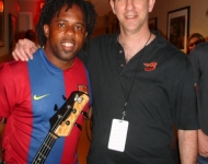 Victor Wooten and Richard